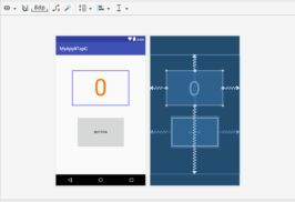 【Mac・Android Studio】タップカウンターを作ってみる その1