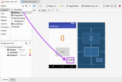 【Mac・Android Studio】タップカウンターを作ってみる その3(失敗編)