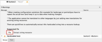 【Mac・Android Studio】警告表示を修正する