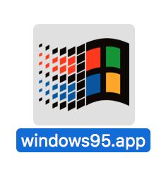 【Mac】Windows95アプリを使ってみる