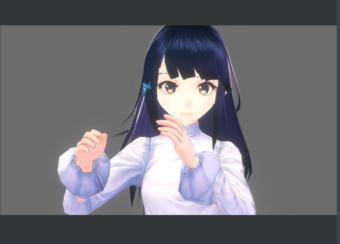 VRoid Studio〜v0.4.0で髪揺れを調整する