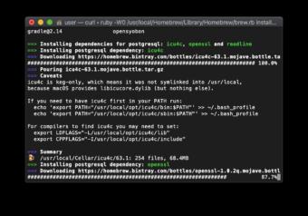 【Mac】PostgreSQLをインストールする