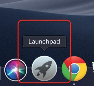 Launchpad起動