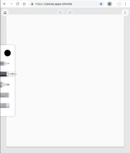 Google描画キャンバス 新規