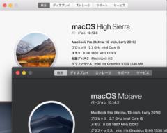 【Mac】やり方は簡単!Time Machine(タイムマシン)でバックアップを復元する〜macOSをMojaveからHigh Sierraにバージョンダウン