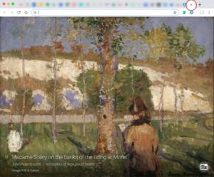 Google Arts & Culture 新しいタブを開く