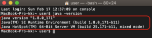 Scalaインストール1 JDK