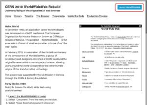 WorldWideWeb サイト