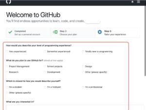 GitHub登録して使う アンケート