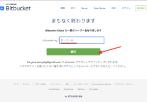 Bitbucket ユーザー