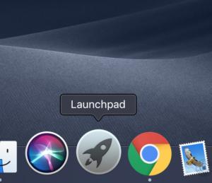 macOS 元号 launchpad