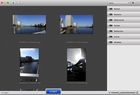 iMage Tools 画像追加して
