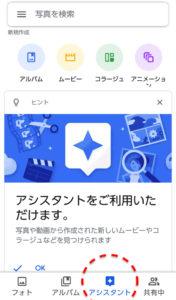 Googleピクチャ アシスタント