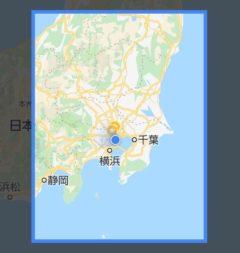 Google Mapでオフラインマップダウンロードできる場所を探す