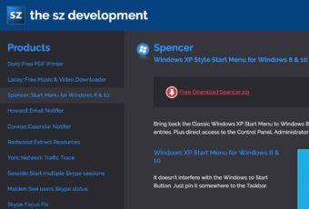 【Windows10】シンプルなスタートメニューを表示!Spencerを使う