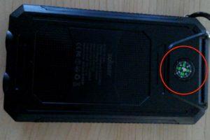 soluser ソーラーバッテリー モバイルバッテリーソーラーチャージャー  コンパス