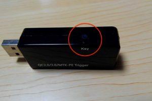 COOWOOのUSB電流電圧テスター チェッカー スイッチ
