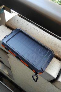 soluser ソーラーバッテリー モバイル ベランダ