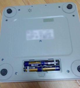 TANITA体組成計 乾電池セット
