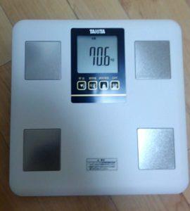 TANITA体組成計 体重