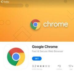 iPadにGoogle ChromeやGoogleマップなどをインストールする