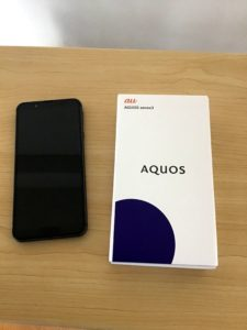 AQUOS sense3 ブラック