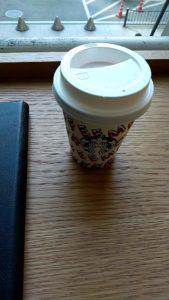 スタバJR東京日本橋iPad コーヒー