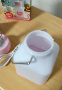 ダイソー加湿器 水を入れる