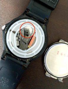 チープカシオ電池交換 電池