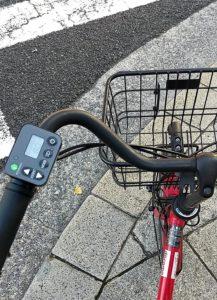 自動車シェリングサービス 自転車乗る