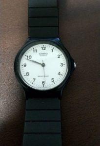 チープカシオ「MQ-24」 時計戻る
