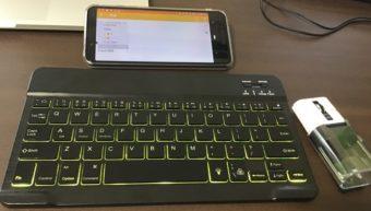 【Android】スマホにキーボードとマウスを接続!デバイスのBluetooth接続を試してみる