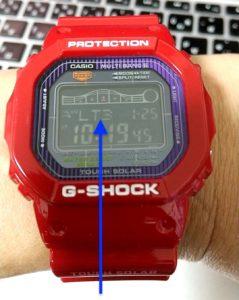 G-SHOCK「GWX-5600C-4JF」 点灯時間