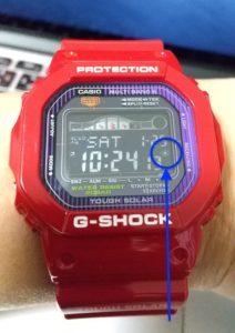 G-SHOCK「GWX-5600C-4JF」 フルーオートマーク