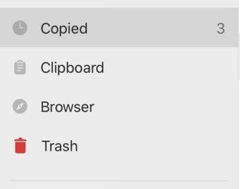 【iPad】コピーを貯める!Copiedアプリをインストールして使う〜使用編