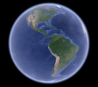 【Android】今まさにその場で世界の各所をみる!?Google Earthを使う
