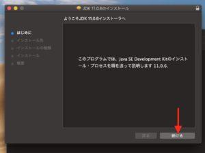 Java SE Development Kit 11 インストーラ起動3