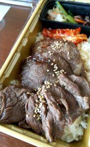 焼肉乙ちゃんテイクアウト弁当 お肉