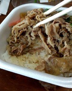 焼肉乙ちゃんテイクアウト弁当 牛丼肉