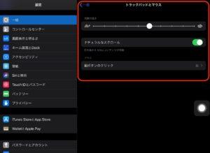 iPadOS 13.4アップデート マウス調整