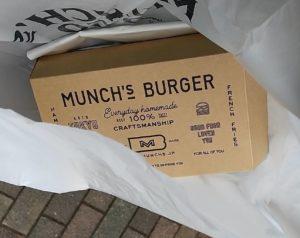マンチズ バーガー シャック箱