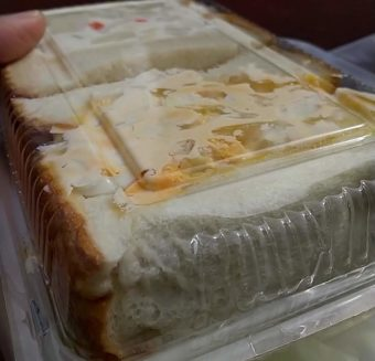 お持ち帰りで!喫茶店「アメリカン」のサンドイッチをテイクアウトする