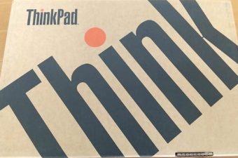 やっと届いた!Lenovoの「ThinkPad E480」を開封する