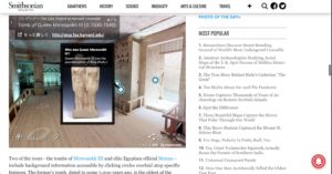 Smithsonian Magazine女王メレサンク3世の墓