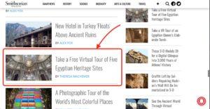 Smithsonian Magazine エジプト