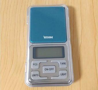 雑誌「DIME」の付録!「デジタルポケットスケール」でいろいろ計量してみた