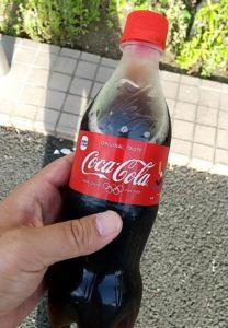 アイスコールド コカ・コーラ 購入後