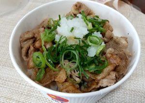 松屋牛焼肉丼弁当 サッパリ