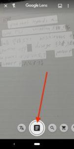 Google Lens 文章アイコン