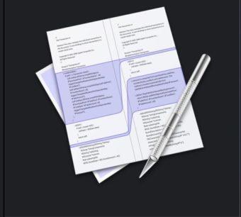 【Mac】コードなどのファイルの差分の比較に!XcodeのFileMergeを使う